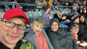Robert attended Monster Energy Supercross on Jan 5th 2019 via VetTix