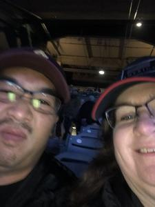 Craig attended Monster Energy Supercross on Jan 5th 2019 via VetTix