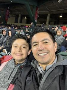Rafael attended Monster Energy Supercross on Jan 5th 2019 via VetTix