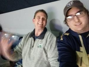 Sean attended Notre Dame Fighting Irish vs. Syracuse - NCAA Men's Basketball on Jan 5th 2019 via VetTix