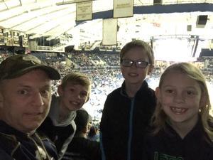Denny attended Notre Dame Fighting Irish vs. Syracuse - NCAA Men's Basketball on Jan 5th 2019 via VetTix