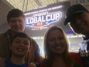 Robert attended Winstar World Casino and Resort PBR Global Cup USA - Saturday Only on Feb 9th 2019 via VetTix