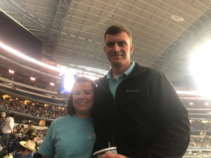 Dustin attended Winstar World Casino and Resort PBR Global Cup USA - Sunday Only on Feb 10th 2019 via VetTix
