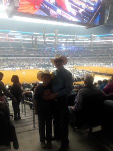 AMADEO attended Winstar World Casino and Resort PBR Global Cup USA - Sunday Only on Feb 10th 2019 via VetTix