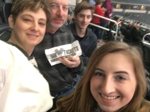 Adron attended Winstar World Casino and Resort PBR Global Cup USA - Sunday Only on Feb 10th 2019 via VetTix