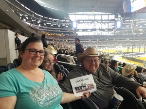 Christina attended Winstar World Casino and Resort PBR Global Cup USA - Sunday Only on Feb 10th 2019 via VetTix