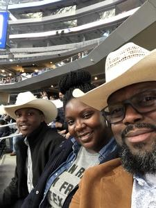 Lanele attended Winstar World Casino and Resort PBR Global Cup USA - Sunday Only on Feb 10th 2019 via VetTix