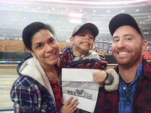 Jeremy attended Winstar World Casino and Resort PBR Global Cup USA - Sunday Only on Feb 10th 2019 via VetTix