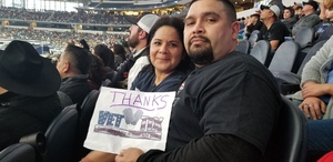 Javier attended Winstar World Casino and Resort PBR Global Cup USA - Sunday Only on Feb 10th 2019 via VetTix