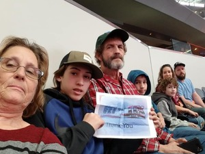 Revonda attended Winstar World Casino and Resort PBR Global Cup USA - Sunday Only on Feb 10th 2019 via VetTix
