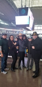 Julio attended Winstar World Casino and Resort PBR Global Cup USA - Sunday Only on Feb 10th 2019 via VetTix