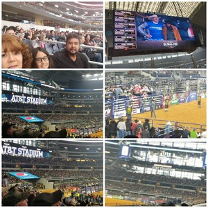 Efrén M. attended Winstar World Casino and Resort PBR Global Cup USA - Sunday Only on Feb 10th 2019 via VetTix