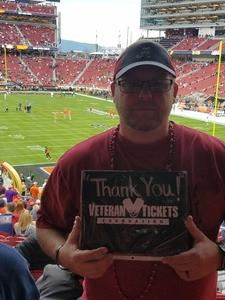 Daniel attended 2019 CFP National Championship - Alabama Crimson Tide vs. Clemson Tigers on Jan 7th 2019 via VetTix