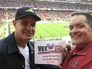 Paul attended 2019 CFP National Championship - Alabama Crimson Tide vs. Clemson Tigers on Jan 7th 2019 via VetTix