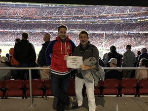 Nicholas attended 2019 CFP National Championship - Alabama Crimson Tide vs. Clemson Tigers on Jan 7th 2019 via VetTix
