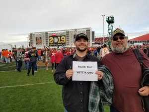 Joel attended 2019 CFP National Championship - Alabama Crimson Tide vs. Clemson Tigers on Jan 7th 2019 via VetTix