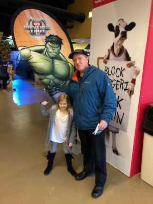 John attended Marvel Universe Live! Age of Heroes on Mar 22nd 2019 via VetTix