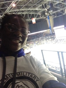 Debbie attended Jacksonville Icemen vs. Florida Everblades - ECHL - Military Appreciation Night on Jan 26th 2019 via VetTix