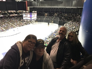 Salvatore attended Jacksonville Icemen vs. Florida Everblades - ECHL - Military Appreciation Night on Jan 26th 2019 via VetTix