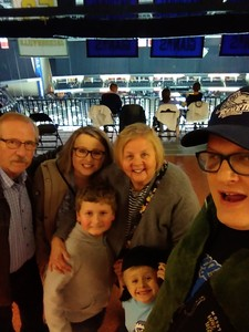 Daniel attended Jacksonville Icemen vs. Florida Everblades - ECHL - Military Appreciation Night on Jan 26th 2019 via VetTix