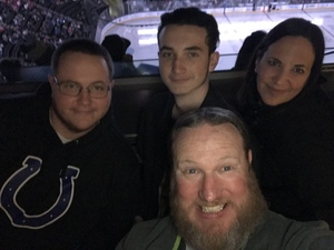 Jammie attended Jacksonville Icemen vs. Florida Everblades - ECHL - Military Appreciation Night on Jan 26th 2019 via VetTix