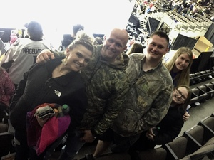 Steve attended Jacksonville Icemen vs. Florida Everblades - ECHL - Military Appreciation Night on Jan 26th 2019 via VetTix