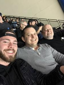 Roy attended Jacksonville Icemen vs. Florida Everblades - ECHL - Military Appreciation Night on Jan 26th 2019 via VetTix