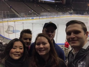 Michael attended Jacksonville Icemen vs. Florida Everblades - ECHL - Military Appreciation Night on Jan 26th 2019 via VetTix