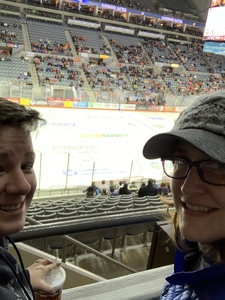 courtney attended Ft Wayne Komets vs Kalamzoo Wings - ECHL on Jan 16th 2019 via VetTix