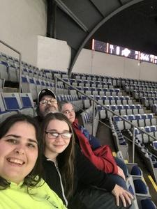 Gregory attended Ft Wayne Komets vs Kalamzoo Wings - ECHL on Jan 16th 2019 via VetTix