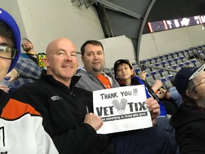 Christopher attended Ft Wayne Komets vs Kalamzoo Wings - ECHL on Jan 16th 2019 via VetTix