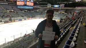 Patrick attended Ft Wayne Komets vs Kalamzoo Wings - ECHL on Jan 16th 2019 via VetTix