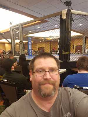 Patrick lowe attended A-town Throwdown Xv - Live Mixed Martial Arts - Presented by Driller Promotions on Mar 23rd 2019 via VetTix