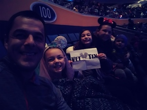 Jason attended Disney On Ice: Worlds Of Enchantment on Jan 24th 2019 via VetTix
