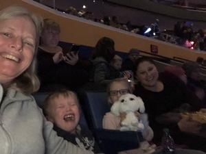 Virginia attended Disney On Ice: Worlds Of Enchantment on Jan 24th 2019 via VetTix
