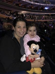 Jaime attended Disney On Ice: Worlds Of Enchantment on Jan 24th 2019 via VetTix