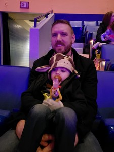 Richard attended Disney On Ice: Worlds Of Enchantment on Jan 24th 2019 via VetTix
