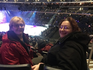 Eva attended Disney On Ice: Worlds Of Enchantment on Jan 24th 2019 via VetTix
