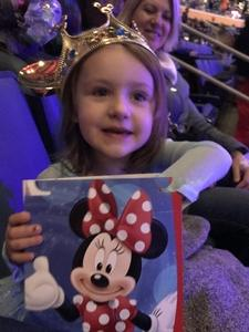 Nicholas attended Disney On Ice: Worlds Of Enchantment on Jan 24th 2019 via VetTix