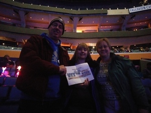Mike attended Disney On Ice: Worlds Of Enchantment on Jan 24th 2019 via VetTix