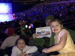Michael attended Disney On Ice: Worlds Of Enchantment on Jan 24th 2019 via VetTix