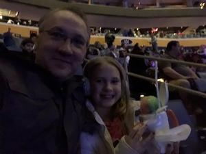 Eric attended Disney On Ice: Worlds Of Enchantment on Jan 24th 2019 via VetTix