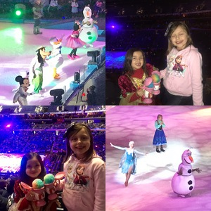 Danielle attended Disney On Ice: Worlds Of Enchantment on Jan 24th 2019 via VetTix