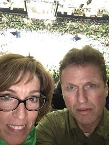 Dan attended Notre Dame Fighting Irish vs. University of Louisville Cardinals - NCAA Women's Basketball on Jan 10th 2019 via VetTix