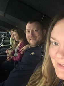 Jeffery attended Notre Dame Fighting Irish vs. University of Louisville Cardinals - NCAA Women's Basketball on Jan 10th 2019 via VetTix