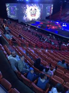 henry attended Marvel Universe Live! on Jan 17th 2019 via VetTix