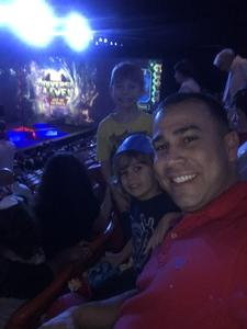 Kenneth attended Marvel Universe Live! on Jan 17th 2019 via VetTix