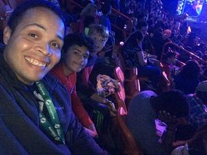 Emmanuel attended Marvel Universe Live! on Jan 17th 2019 via VetTix