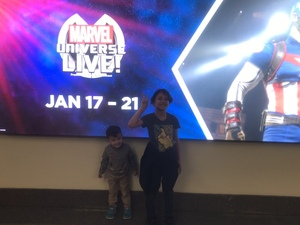 Paolo attended Marvel Universe Live! on Jan 17th 2019 via VetTix