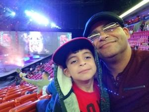 IVAN attended Marvel Universe Live! on Jan 17th 2019 via VetTix